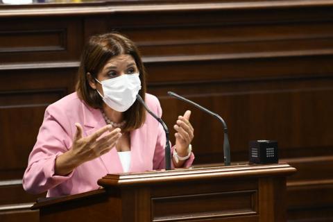 Carmen Hernández. Parlamentaria de Nueva Canarias