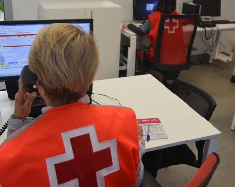 "Programa ""Cruz Roja te Escucha"""