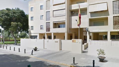 Guardia Civil en La Oliva. Fuerteventura