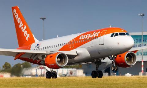 Avión de EasyJet