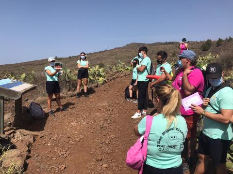 EL PFAE San Miguel Dinamiza 2020 se acerca a una parte del patrimonio histórico y medioambiental