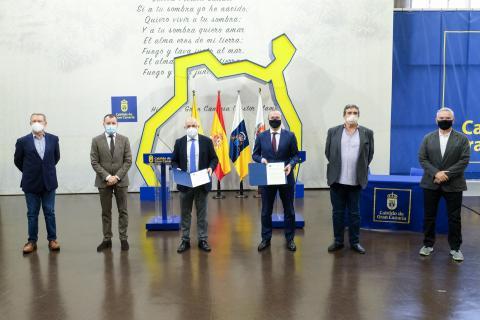 El Cabildo de Gran Canaria y el Ayuntamiento de Las Palmas de Gran Canaria suman fuerzas para agilizar la contratación pública