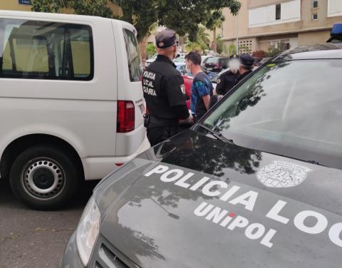 Unidad de Intervención Policial (Unipol) de la Policía Local de Santa Cruz de Tenerife
