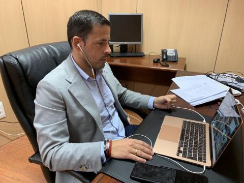 Héctor Suárez, alcalde de Telde