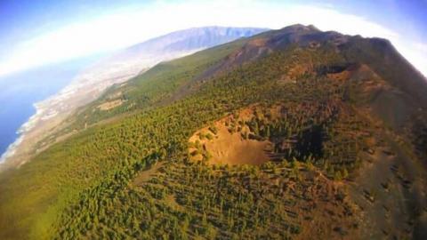 Cumbre Vieja. La Palma