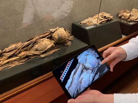 Proyecto «El Museo Canario en 3D: Piezas clave para conocer a los antiguos canarios»