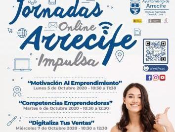 Jornadas online para emprendedores, Arrecife. Lanzarote