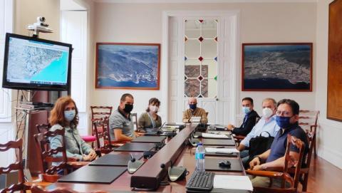 Reunión Ayuntamientos de Santa Cruz de Tenerife y La Laguna