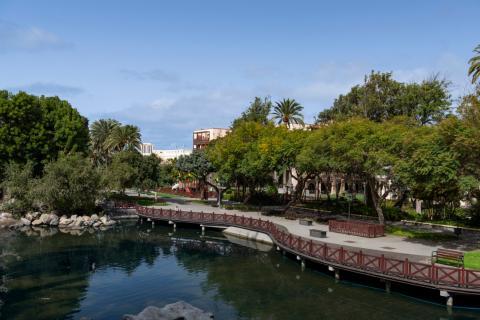 Parque Doramas. Las Palmas de Gran Canaria