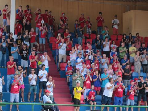 Público en la Ciudad Deportiva Lanzarote