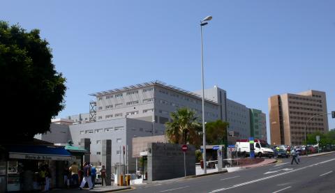 Hospital de La Candelaria. Tenerife