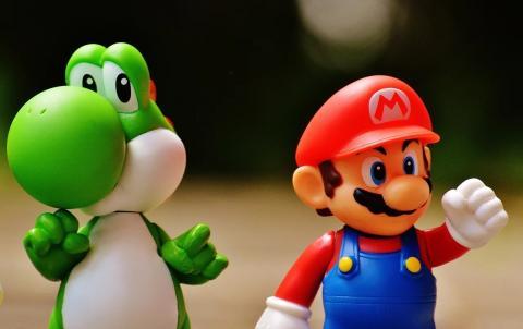 Mario Bros y Yoshi
