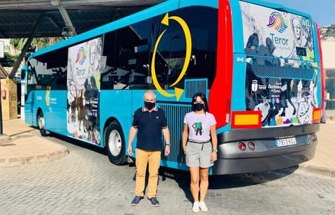 Teror pasea en guagua su nueva marca turística