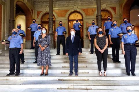 La Policía Local de Santa Cruz de Tenerife incorpora a nueve nuevos agentes