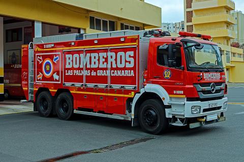 Bomberos. Las Palmas de Gran Canaria