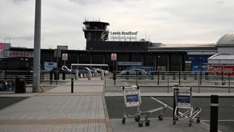 Aeropuerto de Leeds Bradford. Reino Unido