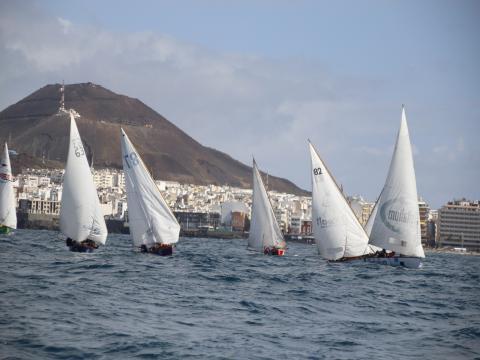 Barquillos de Vela Latina Canaria