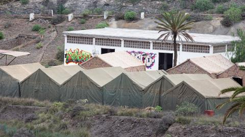 Campamento de Barranco Seco en Las Palmas de Gran Canaria / CanariasNoticias.es