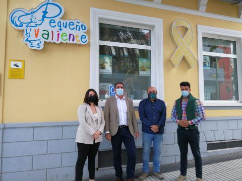 CC-UxGC con la Asociación 'Niños Con Cáncer Pequeño Valiente'