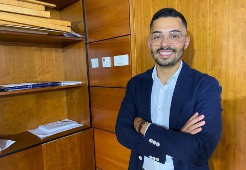 David Godoy, secretario general de Juventudes Socialistas de Canarias / CanariasNoticias.es