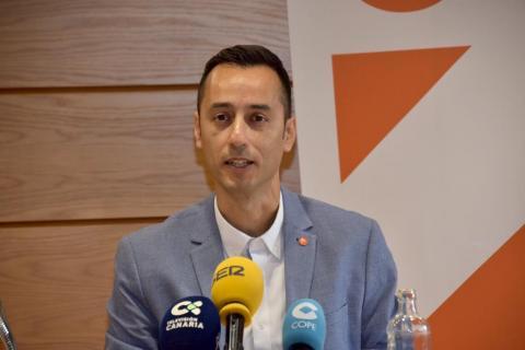 David Rodríguez, coordinador Cs en Lanzarote
