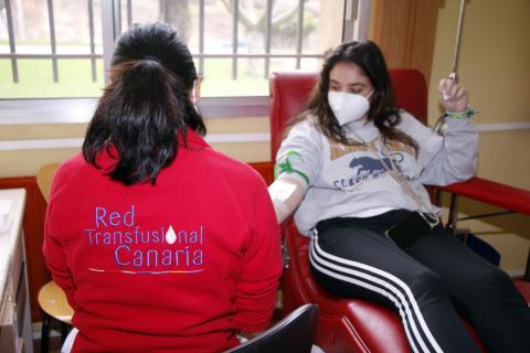 Donante de sangre del ICHH