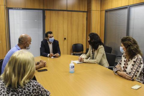 Reunión Cabildo de Fuerteventura y Agencia Tributaria