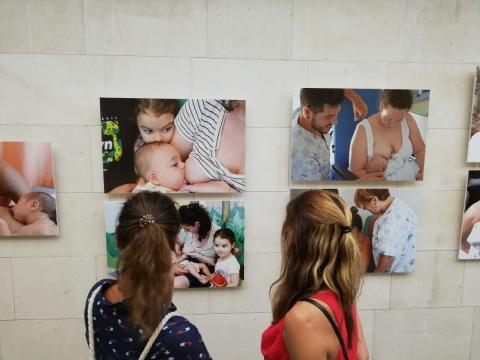 Exposición Lactancia Materna en el HUC / CanariasNoticias.es