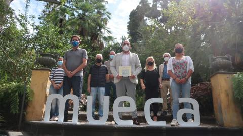 Presentación del Festival Mueca de Puerto de la Cruz. Tenerife
