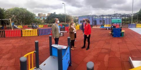 Renovación del área infantil del Parque de las Edades de Jinámar
