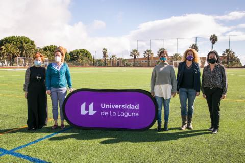 Inaugurado el césped artificial del campo deportivo de la ULL