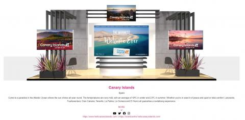 Canarias mantiene su presencia virtual en la World Travel Market (WTM)