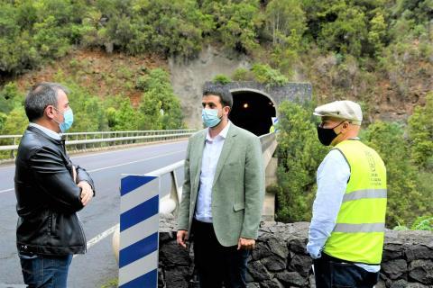 Obras repavimentación de la carretera del Norte de La Palma / CanariasNoticias.es