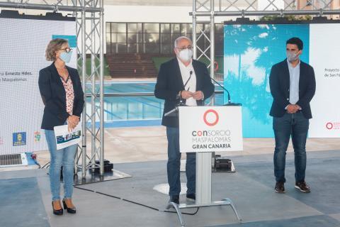 Climatización de la piscina de San Fernando, San Bartolomé de Tirajana / CanariasNoticias.es