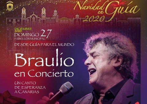 Concierto de Braulio 'Desde Guía para el mundo' / CanariasNoticias.es
