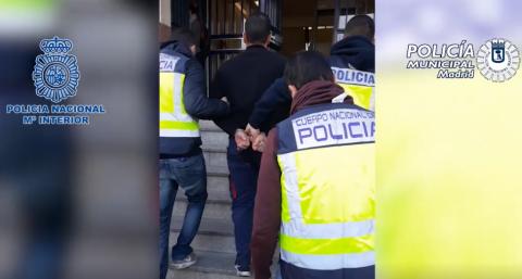 Detenido por la Policía Nacional y la Policía Municipal de Madrid / CanariasNoticias.es