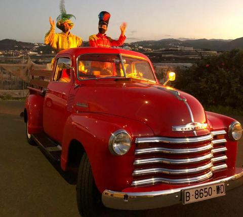 Cartero de los Reyes Magos en Guía / CanariasNoticias