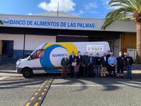 El Grupo Social ONCE en Canarias entrega 111.111 kilos a los Bancos de Alimentos / CanariasNoticias.es