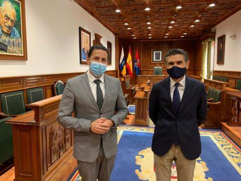 Héctor Suárez y Julio Peñalver / CanariasNoticias.es