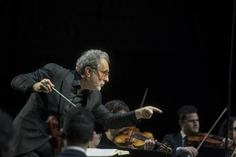 """Concierto teatralizado por 250 aniversario nacimiento Beethoven / © David Campos/ Fundación """"la Caixa"""""""