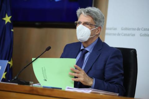 Julio Pérez, portavoz del Gobierno de Canarias / CanariasNoticias.es