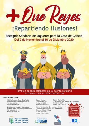 Casa de Galicia. Recogida de Juguetes/canariasnoticias.es