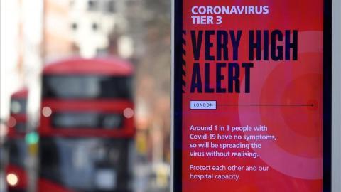 Nueva cepa del coronavirus. Reino Unido/ canariasnoticias.es