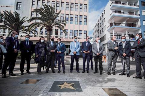 La Palma inaugura su Paseo de Estrellas dedicado a célebres científicos / CanariasNoticias.es