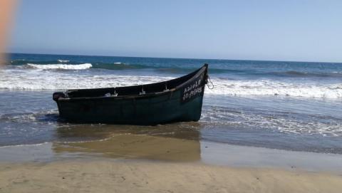 Patera en Maspalomas/CanariasNoticias.es