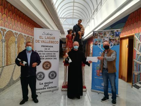 Subasta solidaria del lagar de Valleseco a  San Juan de Dios / CanariasNoticias.es