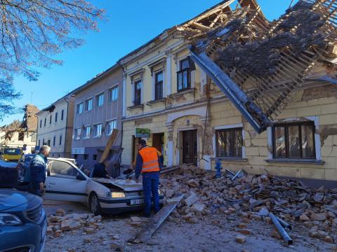 Sismo de magnitud 6,4 en Croacia/ canariasnoticias.es
