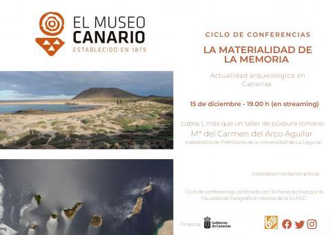 Conferencia en El Museo Canario / CanariasNoticias.es