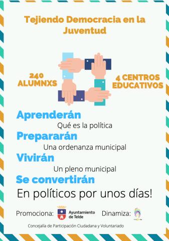 Tejiendo Democracia en la Juventud. Telde/CanariasNoticias.es