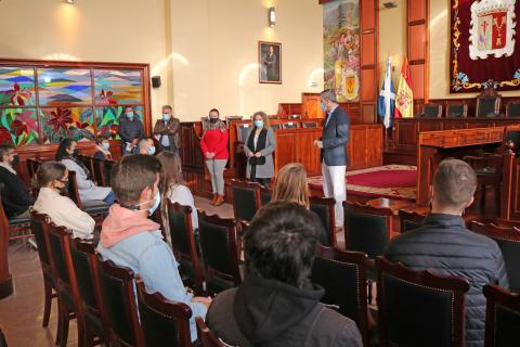 Estudiantes con prácticas en bibliotecas de Los Realejos / CanariasNoticias.es